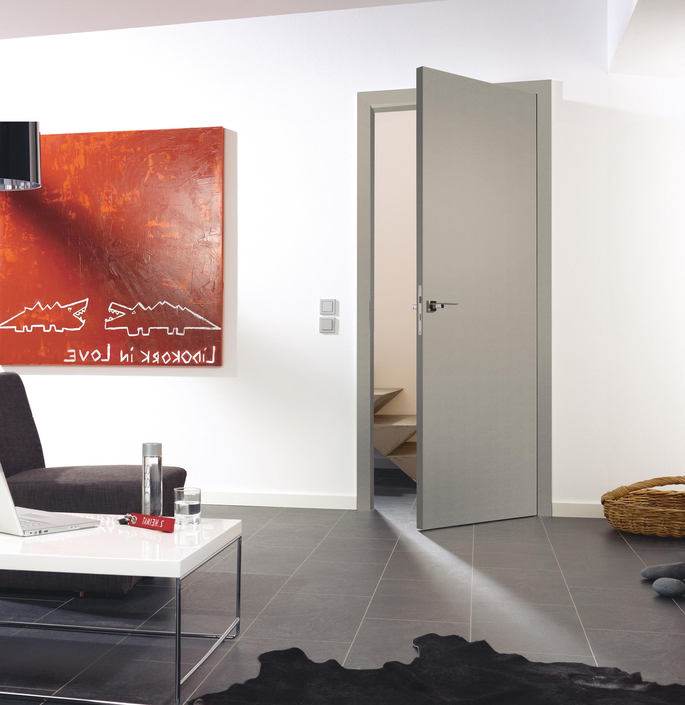 Zimmertüren grau  Tischlermeister Schneeloch - Türen